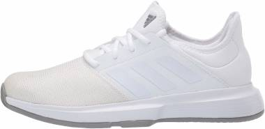 Adidas GameCourt - Ftwr White/Ftwr White/Dove Grey (EH2954)