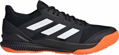 Adidas Stabil Bounce - noir/blanc/orange fluo