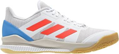Adidas Stabil Bounce - White-solar Red-bright Blue