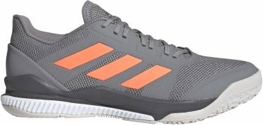 Adidas Stabil Bounce - Grey Three F17 Signal Coral Grey Six