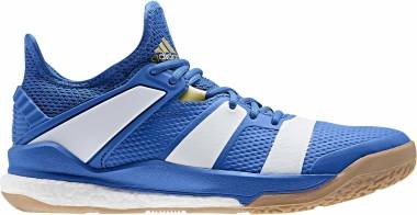 Adidas Stabil X - Blue Off White Gold Metallic