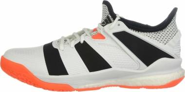 Adidas Stabil X - White Core Black Solar Orange