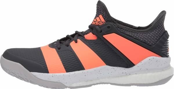 Adidas Stabil X - Grey Six Signal Coral Grey Two F17 (EH0843)
