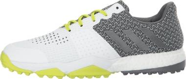 Adidas Adipower S Boost 3 - White/Silver/Semi Solar Yellow (Q44884)