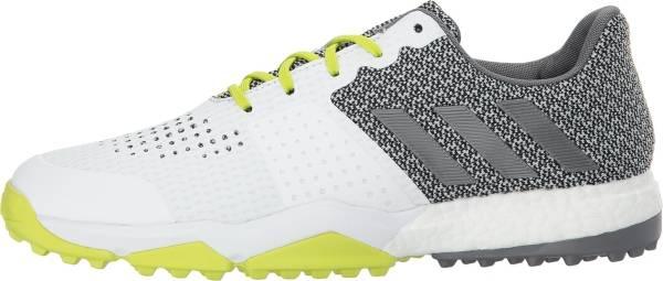 Adidas Adipower S Boost 3 - White Silver Semi Solar Yellow