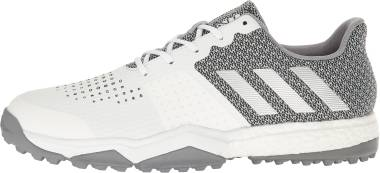 Adidas Adipower S Boost 3 - White/Silver Metallic/Light Onix (Q44776)