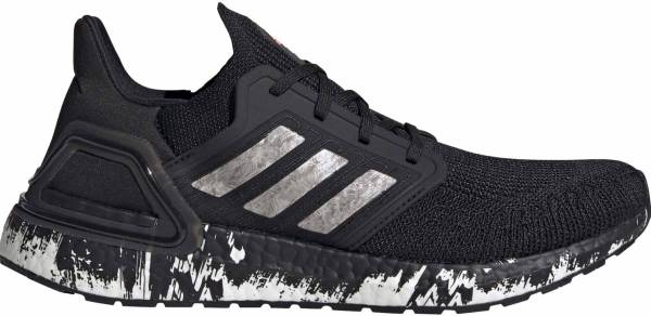 Adidas Ultraboost 20 - Core Black Ftwr White Signal Coral (EG1342)