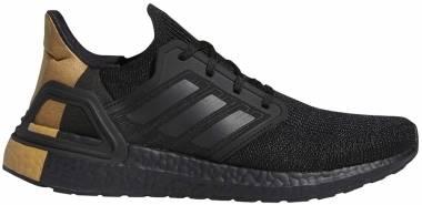 Adidas Ultraboost 20 - Black/Black/Gold (FY2901)