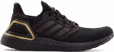 Adidas Ultraboost 20 - Black/Black/Gold Metallic (EG0754)
