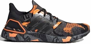 Adidas Ultraboost 20 - Core Black / Signal Orange (FV8330)