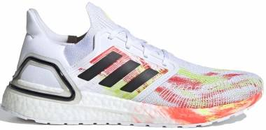 Adidas Ultraboost 20 - Ftwr White Core Black Signal Green (FW8169)