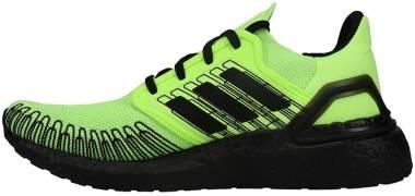 Adidas Ultraboost 20 - Black,Green (FY8984)