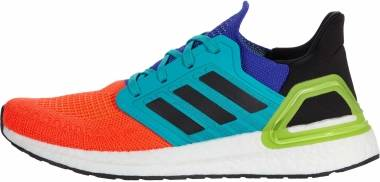 Adidas Ultraboost 20 - Solar Red/Core Black/Gold Metallic (FV8331)