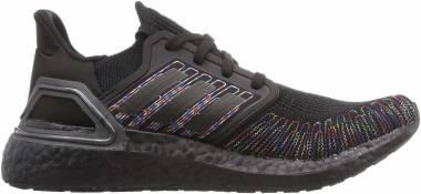 Adidas Ultraboost 20 - Black/Black/Signal Green (EG0711)