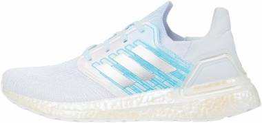 Adidas Ultraboost 20 - Blanc Argent Bleu Ciel (FV8336)