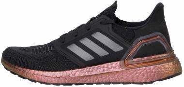 Adidas Ultraboost 20 - Core Black / Grey Five / Signal Pink (EG9749)