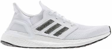 Adidas Ultraboost 20 - Footwear White / Footwear White / Core Black (EF1042)