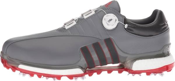 Adidas Tour360 EQT BOA - Grey Four Utility Black Scarlet