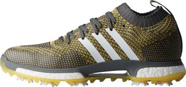 Adidas Tour360 Knit - Grey Five Ftwr White/Eqt Yellow (F33745)