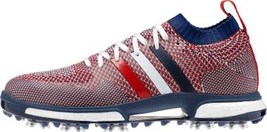 Adidas Tour360 Knit - White/Night Sky/Scarlet