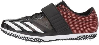 Adidas Adizero HJ - Black Cblack Zeromt Orange Cblack Zeromt Orange (CG3835)