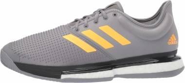 Adidas SoleCourt Boost Clay - Gray (EF2067)