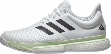 Adidas SoleCourt Boost Clay - White