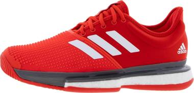 Adidas SoleCourt Boost Clay - Active Red/White/Grey (EF2070)