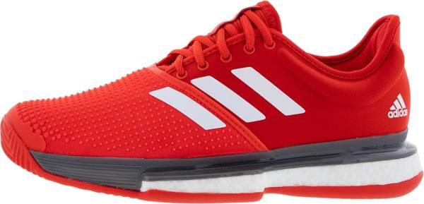 Adidas SoleCourt Boost Clay - Red (EF2070)