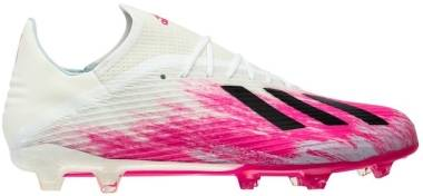 Adidas X 19.2 Firm Ground - Weiß;Pink (EG7129)