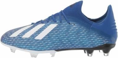 Adidas X 19.2 Firm Ground - Blue Team Royal Blue Ftwr White Core Black (EG7128)