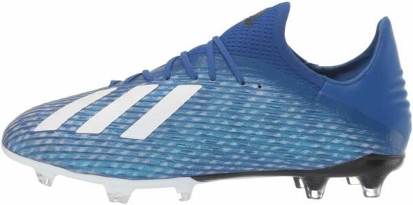 Adidas X 19.2 Firm Ground - Blau Team Royal Blue Ftwr White Core Black (EG7128)