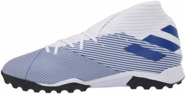 Adidas Nemeziz 19.3 Turf - Weiß;Blau (EG7228)