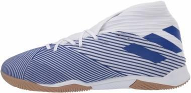 Adidas Nemeziz 19.3 Indoor - Weiß;Blau (EG7224)