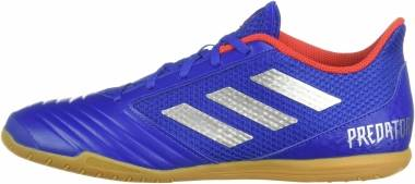 Adidas Predator 19.4 Sala - Bold Blue/Silver Metallic/Active Red (BB9083)