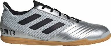 Adidas Predator 19.4 Sala - Silver Metallic/Black/Hi-res Red (F35630)