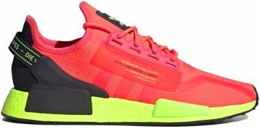 Adidas NMD_R1 v2 - Signal Pink/Signal Green/Black (FY5919)