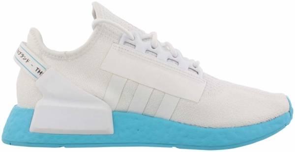 Adidas NMD_R1 v2 - Footwear White/Footwear White/Solar Blue (FX3901)