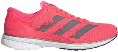 Adidas Adizero Adios 5 - Signal Pink / Core Black / Copper Metalic (EG4667)