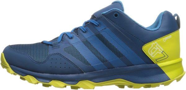 Adidas Kanadia 7 GTX men tech steel/unity blue/unity lime