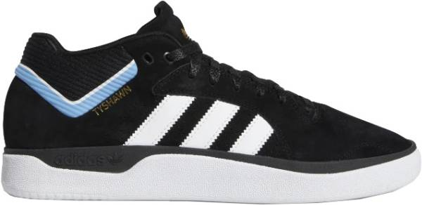 Adidas Tyshawn Signature - Core Black Cloud White Light Blue