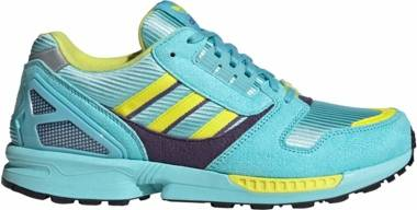 Adidas ZX 8000 - Clear Aqua Light Aqua Shock Yellow