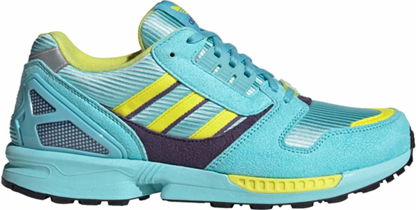 Adidas ZX 8000 sneakers in green grey (only $60) | RunRepeat