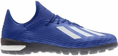 Adidas X 19.1 Turf - Blau