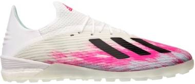 Adidas X 19.1 Turf - Weiß;Pink (EG7135)