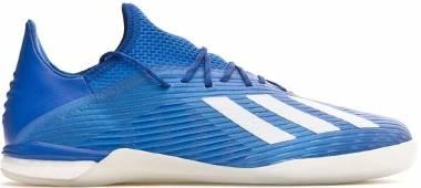 Adidas X 19.1 Indoor - Blå