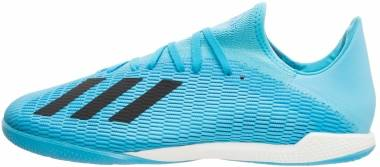 Adidas X 19.3 Indoor - Bright Cyan Black Shock Pink (F35371)