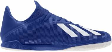 Adidas X 19.3 Indoor - Blue Team Royal Blue Ftwr White Core Black (EG7154)