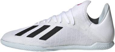 Adidas X 19.3 Indoor - White/Black/Shock Pink (EG7171)