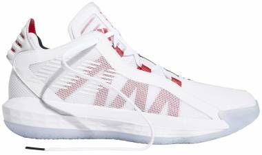 Adidas Dame 6 - Ftwr White Scarlet Core Black (EH2069)